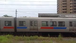 鹿児島本線 811系 快速 モハ811-108 走行音 原田~大野城