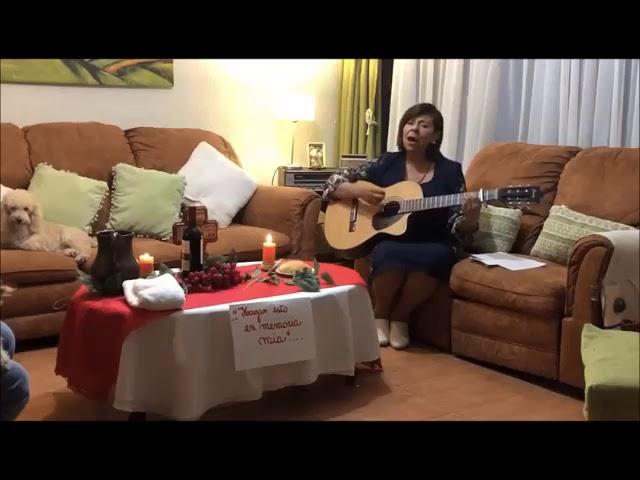 Oración Cantada en Jueves Santo 2020 Amanda y Ricardo