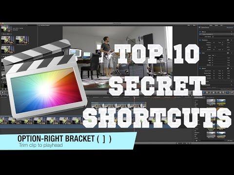 Learn 10 Great Final Cut Pro X Shortcuts