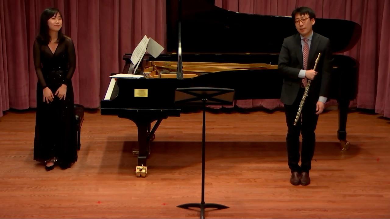 Andre Jolivet, Chant de Linos; Beomjae Kim, flute. Min Young Kang, piano.