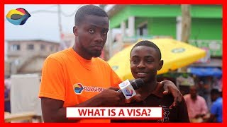What is a VISA used for  Street Quiz  Funny African Videos  Funny Videos  African Comedy
