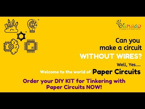 India's 1st DIY kit for Tinkering with Paper Circuits Unboxing Demo Learning Electronics Simplified 
