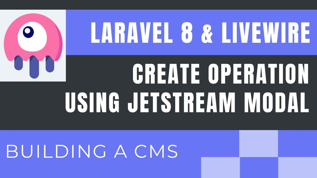 Laravel 8 Livewire Tutorial Building A Simple Cms Create Operation Using Jetstream Modal Part2 Youtube