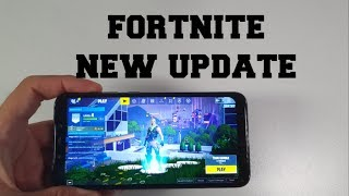 Pocophone F1 FORTNITE Gameplay/New update/patch/version v9.10 Season 9