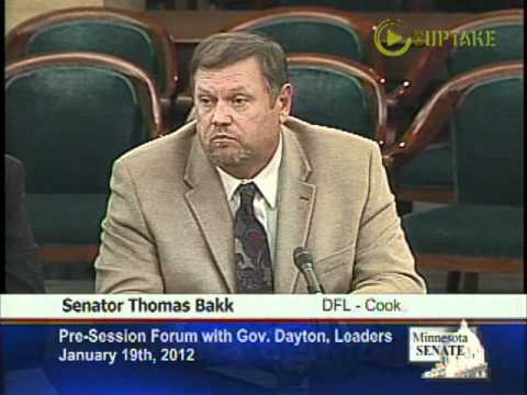 "MN Senate ""Tarnished"" And GOP Should Apologize Says Senator Bakk"