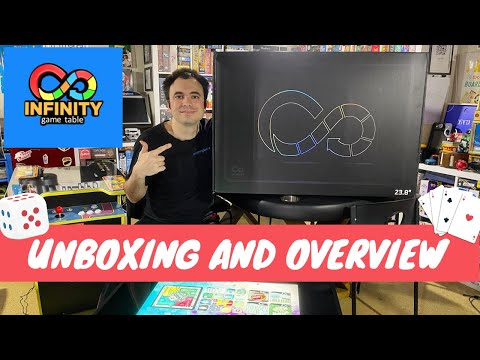 Infinity Game Table by Arcade1Up - Digital Board games - Retail Unboxing and Overview from UrGamingTechie