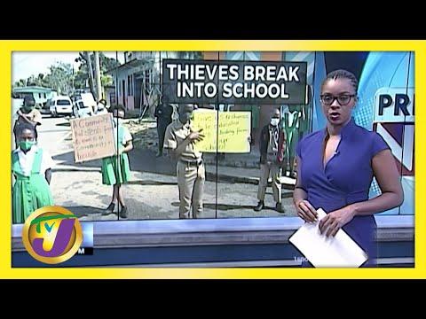 Thieves Break into Primary School | Jamaica Goes Digital | TVJ News