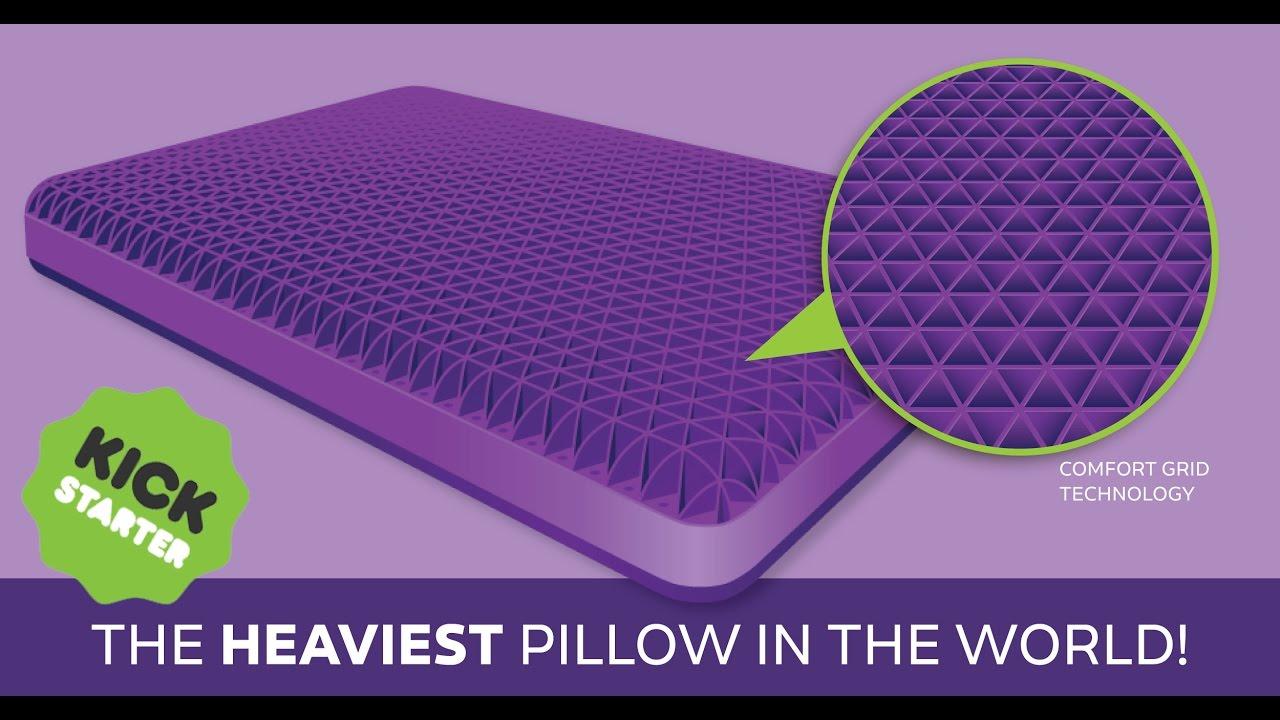 The Purple® Pillow: Official Kickstarter Video - YouTube