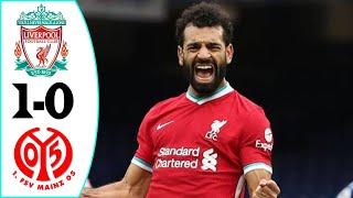Liverpool vs Mainz 05 1-0 Resumen & Goles Highlights & Goals 2021 HD