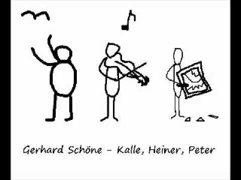 Gerhard Schöne - Kalle, Heiner, Peter