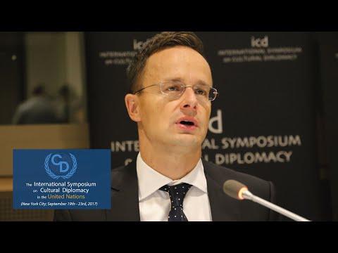 Péter Szijjártó (Minister of Foreign Affairs and Trade of Hungary)