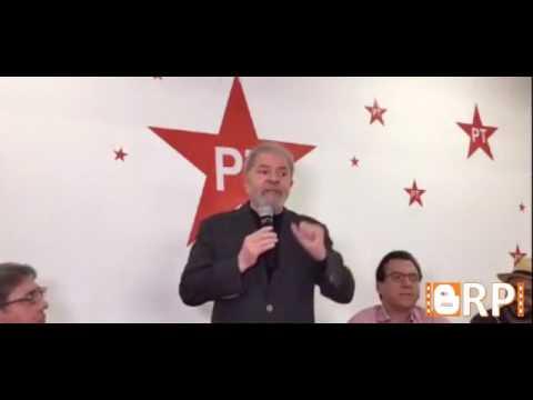 Lula Fala que PT é o exemplo de combate a corrupção