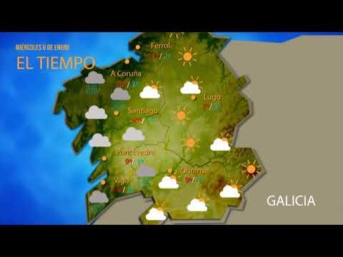 La provincia de Ourense, en aviso naranja por temperaturas de hasta -8 grados
