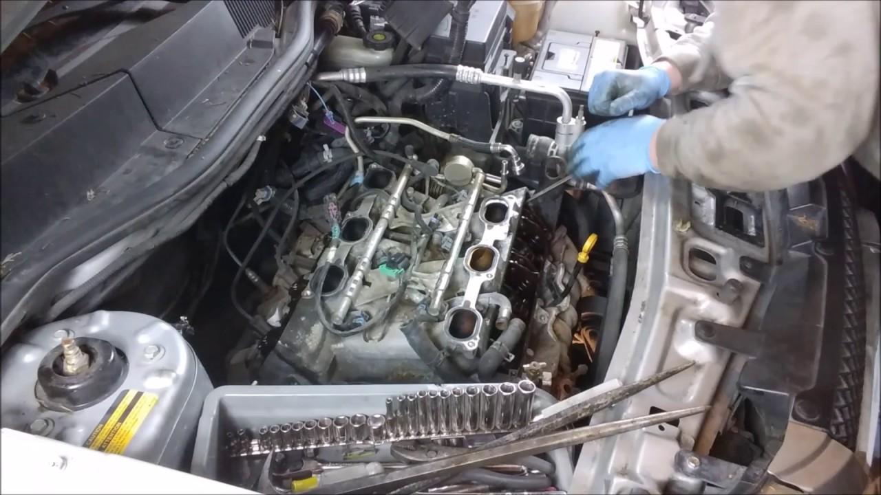 3400 V6 Engine Coolant Diagram Equinox Head Gasket Part 1 Youtube