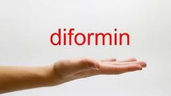 How to Pronounce diformin - American English