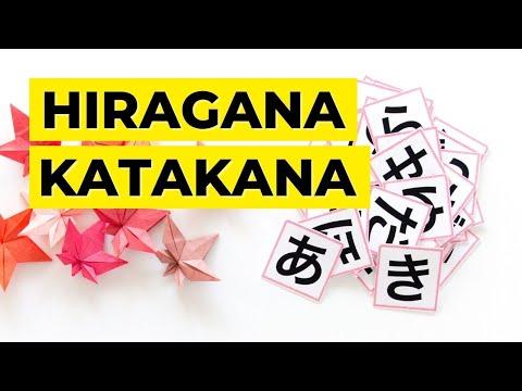 Aprendiendo japonés | Hiragana & Katakana