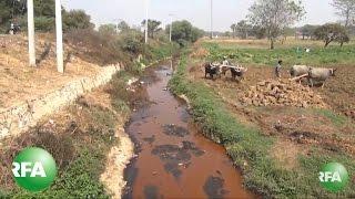 Toxic Waste Befouls Myanmar Farmland