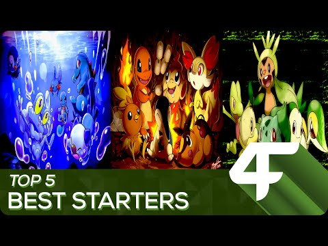 Top 5 BEST Starter Pokemon in ANY Game! |