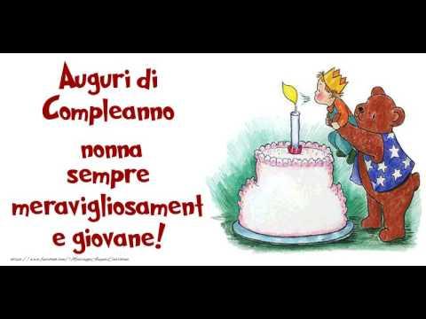 Happy Birthday Nonna Buon Compleanno Nonna Youtube