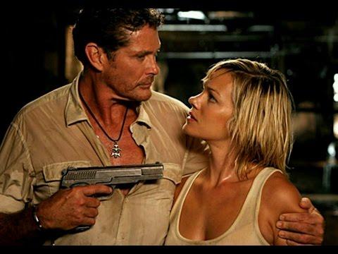 Crystal Allen and David Hasselhoff fight  in Anaconda 3 Offspring