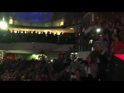 Impractical Jokers Cruise 2016-Murr's Video! Joey Fatone singing Bye, Bye, Bye