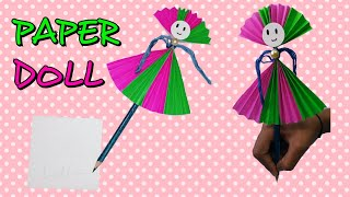 How to make a Paper DOLL,  Easy to do gifts for Loved ones, Creations..