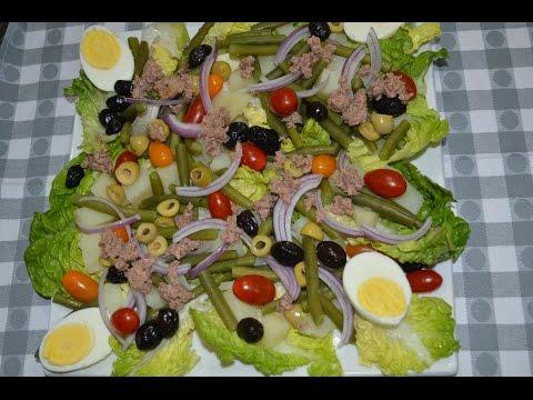 سلطة نيسواز Salade niçoise