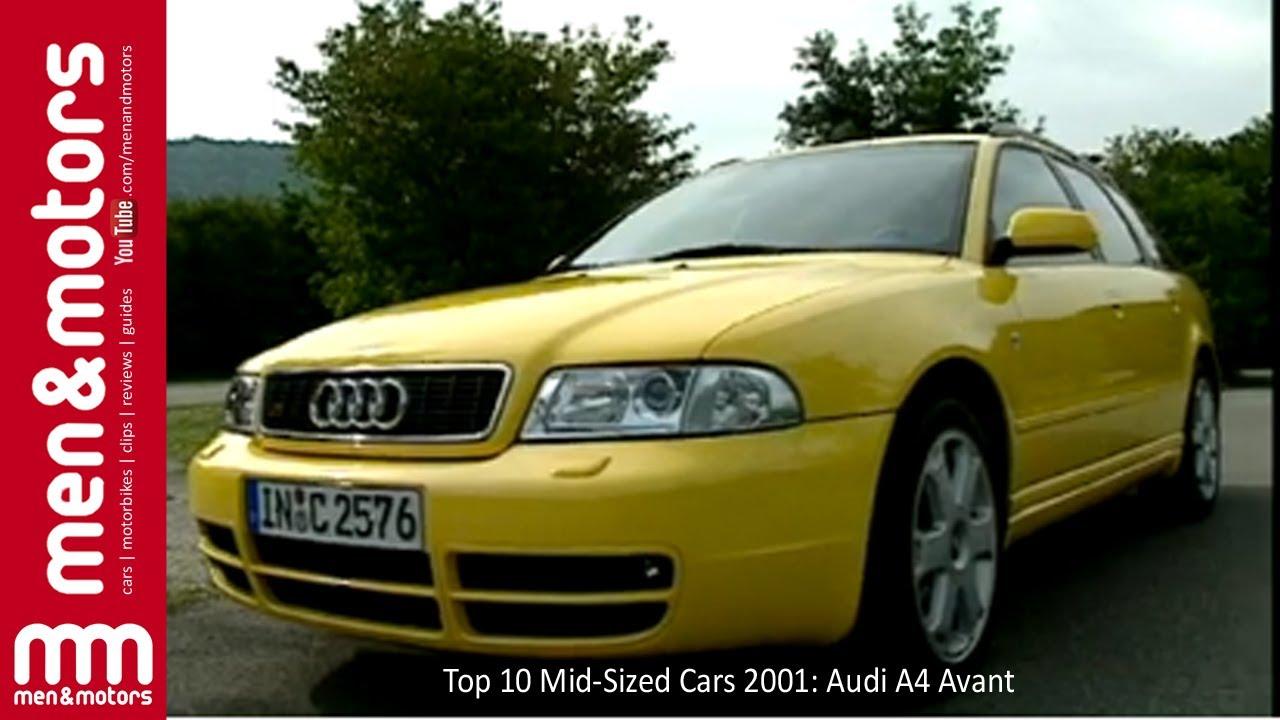 Top 10 Mid-Sized Cars 2001: Audi A4 Avant