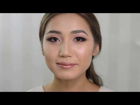 Макияж для азиатских глаз  Макияж на каждый день  Азиатское веко | Julia Shavlova  - makeuprof.kz