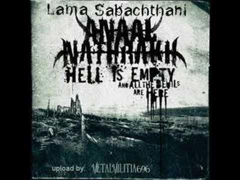 Клип Anaal Nathrakh - Lama Sabachthani