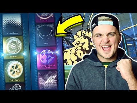 I DIDN'T KNOW YOU COULD GET THIS?! | OPENING 50 VICTORY CRATES IN ROCKET LEAGUE! *INSANE LUCK*