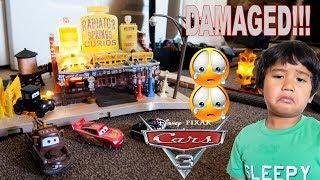 DAMAGED Disney Pixar Cars Precision Series Lizzie