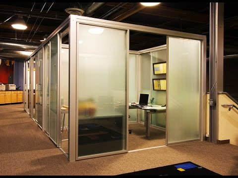 Ideas For Office Partitions - YouTube
