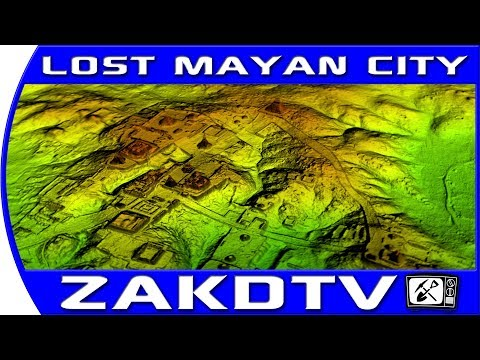 Lost Mayan city FOUND using LASERS LIDAR, Ancient ruins found in jungle 2018