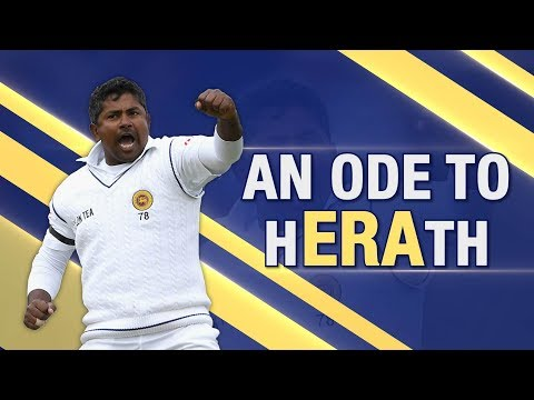 Harsha Bhogle - Rangana Herath's career is a story of never giving up