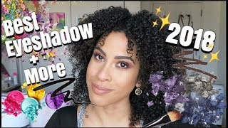 BEST EYESHADOW + MORE 2018 | kinkysweat
