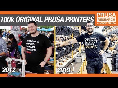 The Road to 100,000 Original Prusa 3D printers