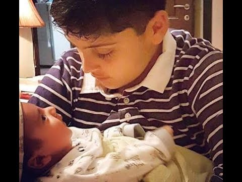 Juggan kazim with her second son - YouTube