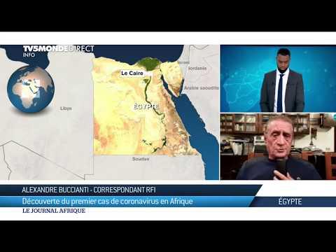 Coronavirus - Premier cas en Afrique, l'épidémie arrive en Egypte