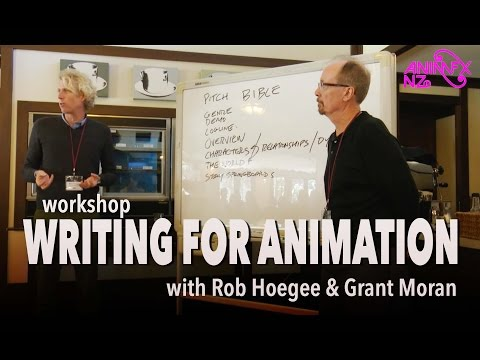 Writing for Animation Workshop || AnimfxNZ 2015
