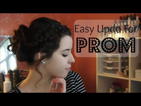 Easy Prom Updo Youtube
