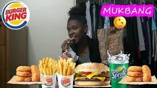 Burger King MukBang(LETS TALK!)