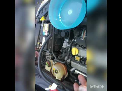 Engine temperature gauge reading low, How To Fix – Saab Thermostat Replacement
