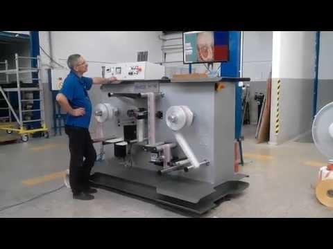 NIKELMAN - Nikelman® PO 180 Rewinding Process On Device For 'NPO Slava'
