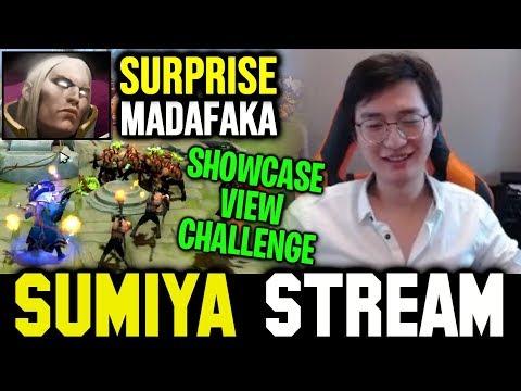 SUMIYA Showcase View Challenge ft LMAO Surprise Madafaka | Sumiya Invoker Stream Moment #801
