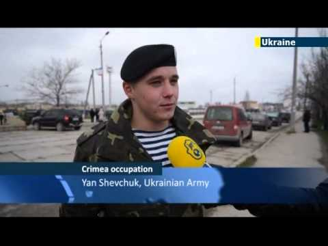 Ukrainian soldiers in Crimea resist Russian pressure to betray their oath and defect