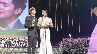 JaDine Receives Award at 46th Guillermo Mendoza Awards Night