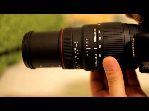 Sigma 70-300mm f/4 - f/5.6 APO Lens Review...with samples