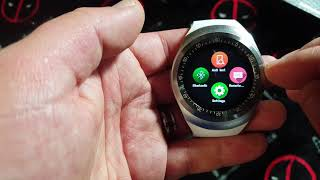 Y1 Smart Watch Review And Teardown. Android And Apple Compatible.. But Best On Android!