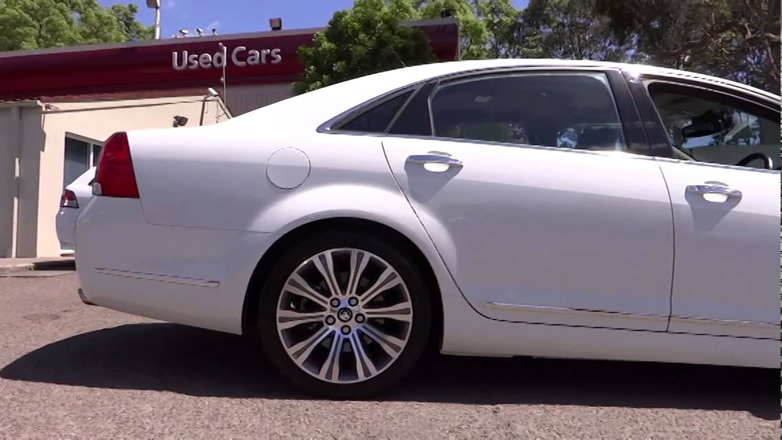 2013 Holden Caprice Ryde Sydney New South Wales Top